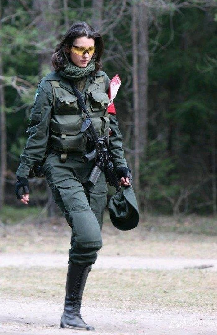 Re Women in Military Photo.