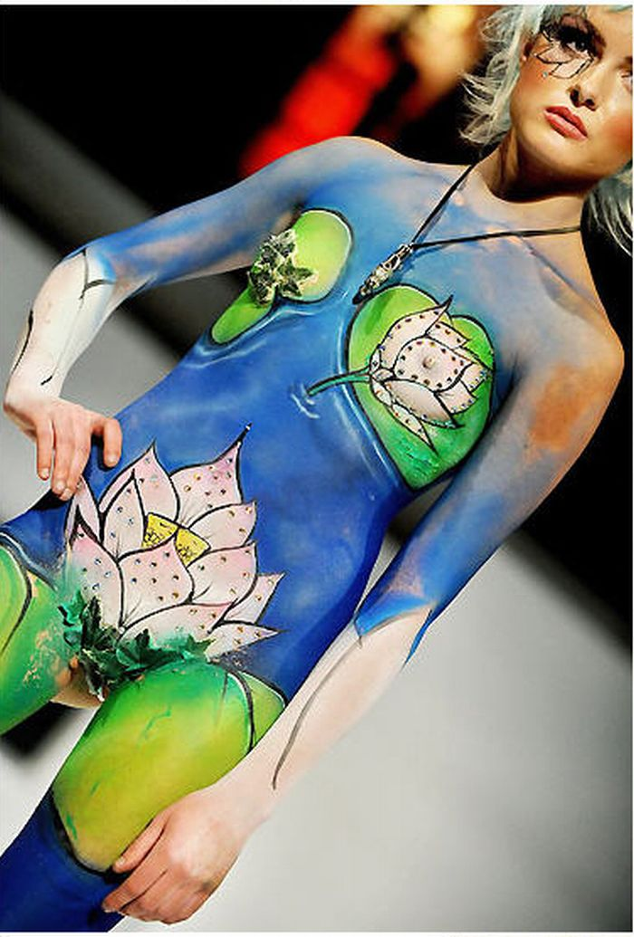 Galeri Foto Body Painting Tattoo Minami Babesource 1