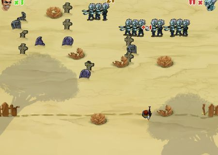 Zombie invaders