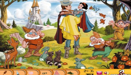 Hidden Objects Snow White